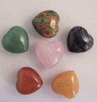 Sell Green Aventurine Heart, semi precious stone heart