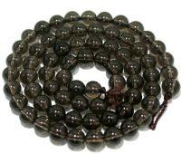 Sell 6MM Smoky quartz Round Beads 16