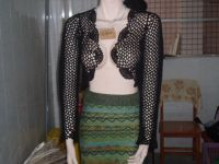 Sell hand crocheting clothes,hand weaving clothes