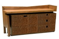 IN018A-A Chest 2 Doors with 3 Drawers