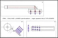 OLP-1 online laser micro perforation for mass products
