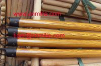 Sell wooden PVC coated  broom stick