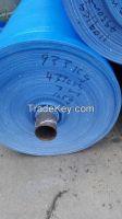 Sell 50gram --280gram/m2 blue/blue pe tarpaulin