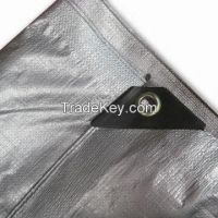 Sell Silver color PE waterproof tarpaulin , tarpaulin cover