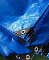 60-260g Blue/Blue, Brown, braun color PE waterproof tarpaulin , Rain cover