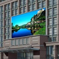 P10mm led scrolling message display