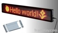 Sell Indoor scrolling LED display signs