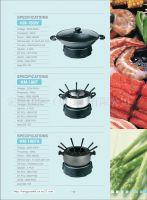 Electric Wok and Fondue Set, Electric Pot