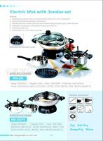 Sell Electric Wok and Fondue Set, Electric Pot