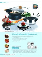 Sell Electric Pot, Electric Wok and Fondue Set