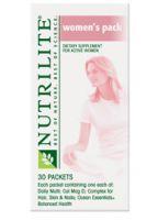 Nutrilite Womens Supplement Packs