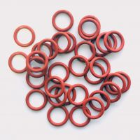 AS568-016 Model IDxCS 15.6x1.78mm Silicone O-Rings, Rubber O ring seals