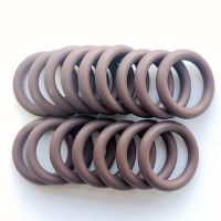 Brown FKM O rings IDxCS 23.16x5.33mm rubber o ring seals