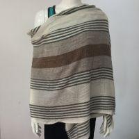 woolen Stripe Stole