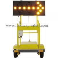 Sell traffic solar arrow signal board with trolly YS-ST01