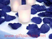 supply favor wedding silk rose petals(Purple)