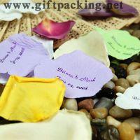 Sell cheap wedding silk  rose petals(ettering I LOVE YOU)