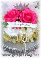 Sell cheap wedding silk  rose petals(queentoo)