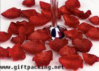 supply favor wedding silk rose petals(reds)