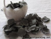 supply favor wedding silk rose petals(flower basket)