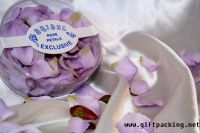 supply favor wedding silk rose petals(white case-package)