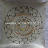 sell handmade embroidery cushions