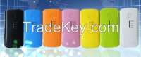 5600mAh portable power bank multi color for iPhone, iPad, Samsung Galaxy