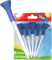Sell plastic tee with rubber top(T154