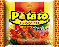 Sell spicy beef flavour  potato noodles-halal certificate
