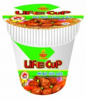 Sell beef flavour instant noodles cups