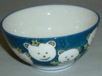 Sell porcelain & ceramics rice bowl