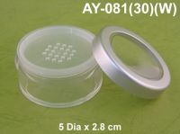 Plastic Cosmetic container -Made in Taiwan