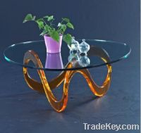 Sell perspex waved cocktail table