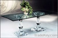 Sell acrylic dining table plexiglass table