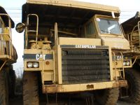 Sell used dump truck