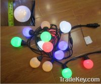 Sell LED party light string with G50 ball bulb