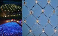Sell led net light for outdoor decoration use 24v/110v/230v , connectable