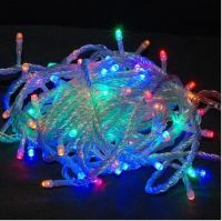 Sell 10m LED string light with end to end connector, multi color LED with controller