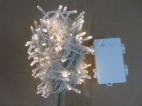 Sell battery LED string light with warm white LED and clear cable , waterproof