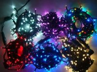 Sell Bi color LED string light 230V , connectable for outdoor use