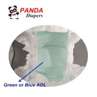 100% Cotton Baby Diapers with Green ADL