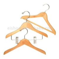 Sell Wooden Suit Hanger with Metal Clips