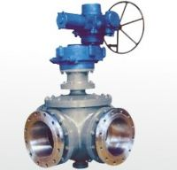 Sell motorized four-way ball valve
