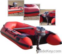Sell inflatable motor boat of U shape