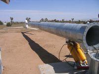 5KW Wind Turbine with hydraulic tower