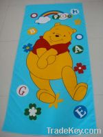 Sell microfiber printed beach towels