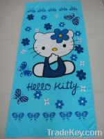 Sell microfiber printing beach towels