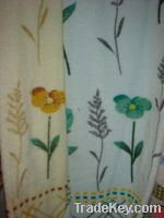Sell 100% cotton jacquard printing bah towels