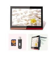 Sell 19 inch flip down  Car TFT-LCD Monitor DVD PLAYER