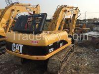 Used caterpillar 325C crawler excavator, used CAT crawler excavator 325C for sale